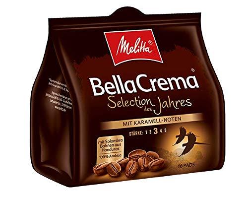 Melitta Gemahlener Röstkaffee in Kaffeepads, 100 % Arabica, weiches Aroma mit Karamell-Note,...