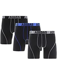 Adidas Mens Climalite Performance Boxer Briefs 3 Pack XL (40-42)