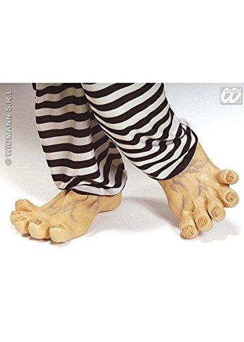 Caveman Schuhe - Erwachsene Deluxe große lustige Latex
