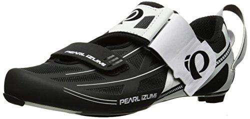PEARL IZUMI Tri Fly Elite V6 Triathlon Schuhe weiß/schwarz 2017: Größe: 44.5