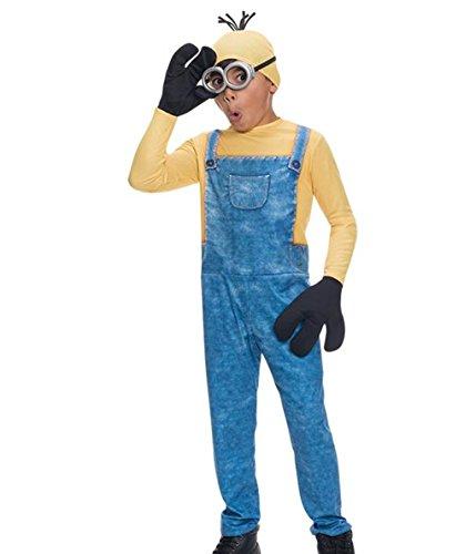 Kevin Minion Kostüm Kind - Minion Kevin Minions - Kinder Kostüm 5 - 7 Jahre 122 128