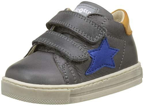 falcotto lauflernschuhe Falcotto Baby Jungen Sirio VL Sneaker, Grau (Antracite 0b01), 25 EU