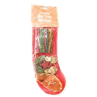 paw dog christmas xmas stocking | 100% rawhide treats | 20 treats 215g PAW Dog Christmas Xmas Stocking | 100% Rawhide Treats | 20 Treats 215g 41iUlZJ0IjL