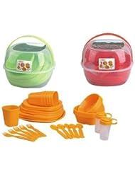 GMMH - Set de picnic para 4 personas (36 piezas)