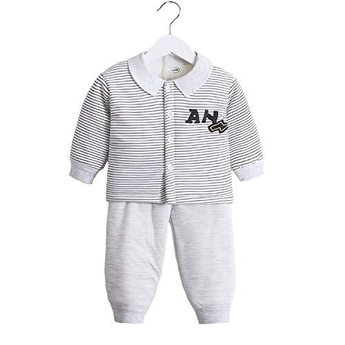 WSXX Winter-Kinderanzug Aus Baumwolle, Gesteppte Verdickende Baby-Strickjacke Mit Doppeltem Verwendungszweck Ausrüstungssatz Baumwolle (Gesteppte Strickjacke)