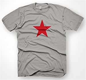 THE RED STAR T-SHIRT S-XXL KULT D.G. NEU REVOLUTION