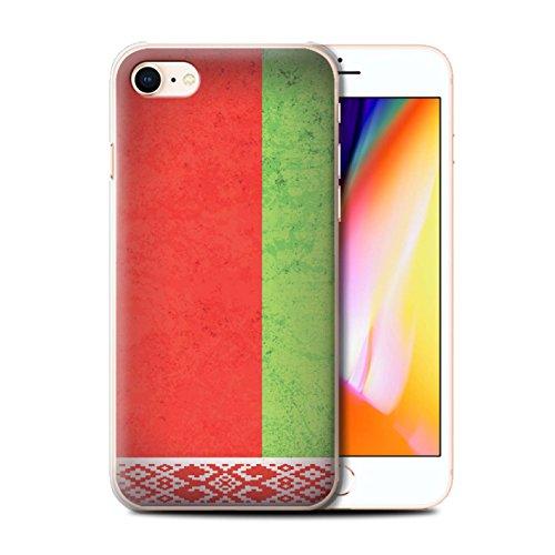 Stuff4 Hülle / Case für Apple iPhone 6 / Sebia/Serbisch Muster / Europa Flagge Kollektion Belarus/Belarusian