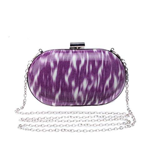 MOGOR, Borsa tote donna viola Purple medium Purple