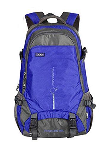 25 Liter Unisex Travel Wandern / Camping Rucksack Ultrabreath Tasche Wasserdichte Nylon Bergsteigen Rucksack (Rot) Lila