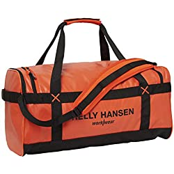 Bolsa Helly Hansen 79572_299-STD DUFFEL BAG 50L Naranja Negro