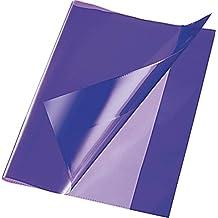 transparent Brunnen 1040180 Buch-, Heftumschlag // Buchschoner, Buchh/öhe 18 cm, 38 x 18 cm, mit rotem Kantenschutz