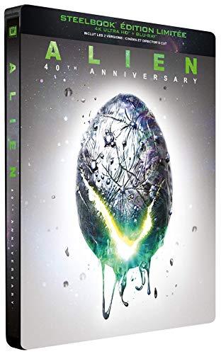 Alien [4K Ultra HD + Blu-ray - Édition Limitée SteelBook 40ème Anniversaire]