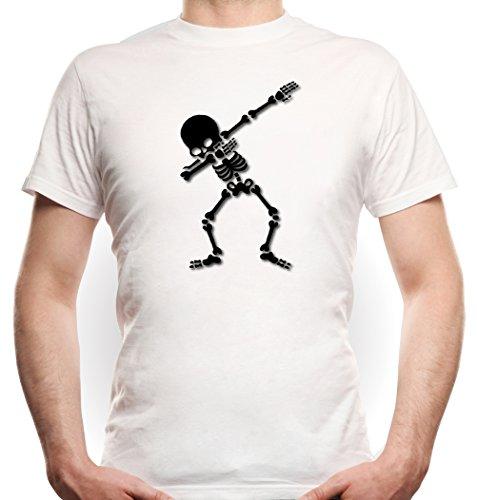 ing Skeleton T-Shirt White (Halloween-humor Tumblr)