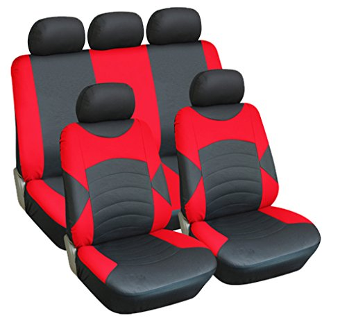 mitsubishi-l200-full-set-luxury-leather-look-seat-covers-front-rear-black-red
