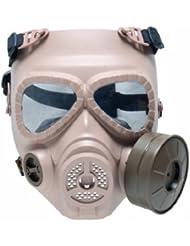 GSG M04 - Réplica de máscara de gas beige tan