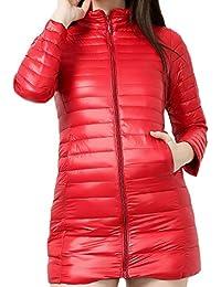 on sale fe393 0d68c Piumino Lungo - Gilet / Giacche e cappotti ... - Amazon.it