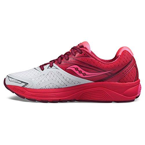 Saucony Damen Ride 9 Laufschuhe Pink