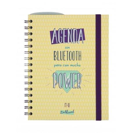 """Finocam - Agenda escolar 2017/18 """"Talkual"""""""