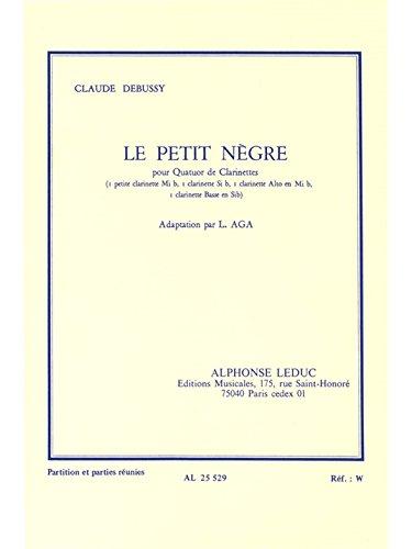 Claude Achille Debussy: le Petit Ngre (Clarinets 4)
