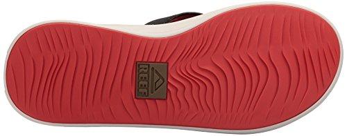 Uomo Red Twinpin Reef Tan Flip Flop 6q8nwOS