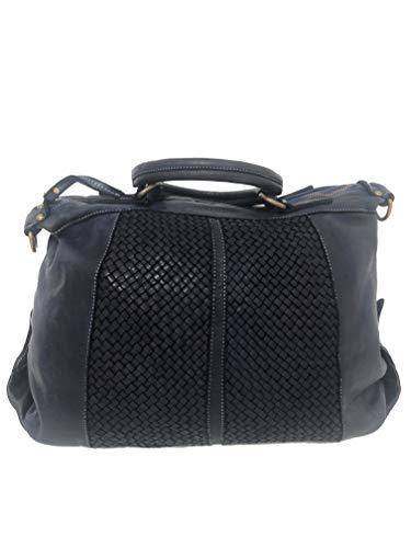 MASSIMA BARONI. Damen Umhängetaschen. New York Modell. Italienische Vintage Ledertasche (schwarz) (schwarz) - Gucci Authentischen Handtasche Tasche