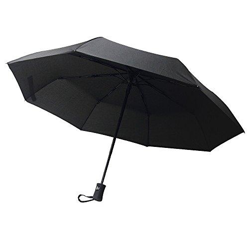 Innoo Tech Parapluie pliant résistant au vent testé à 55 km/h- Parapluies de voyage