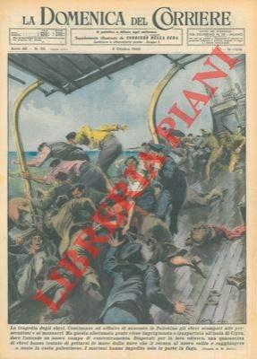 Alcuni ebrei che vengono imprigionati e portati all'isola di Cipro cercano di scappare, ma i marinai impediscono in parte la fuga.