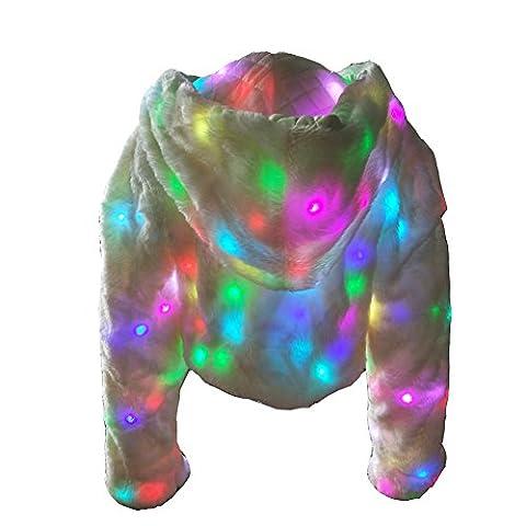 Manteau Brillant - Ohlees® Xmas Led Light la lumière Brillant