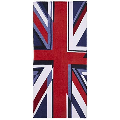 Catherine Lansfield Strandtuch Union Jack, 76 x 160 cm 160 Jack