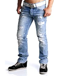 Redbridge destroyed Jeans WEAROUT hellblau RB-171