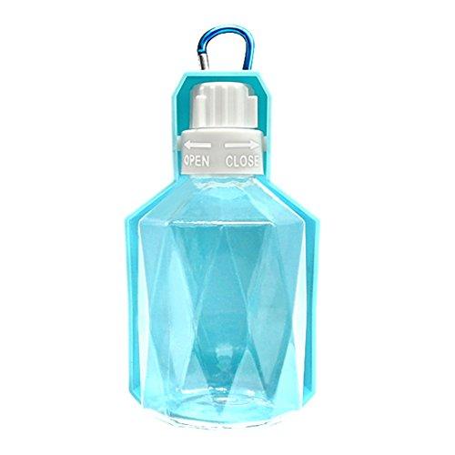 Eshall Hund Katze Trinkflasche, Tragbar Pet Travel Wasser Flasche, 250ml - Geschirrspüler Desinfizieren