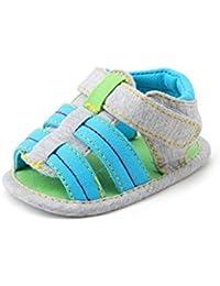 BOBORA Color Caramelo Antideslizante Bebe Nino Nina Zapatos Cuna Unico Suave Zapatos