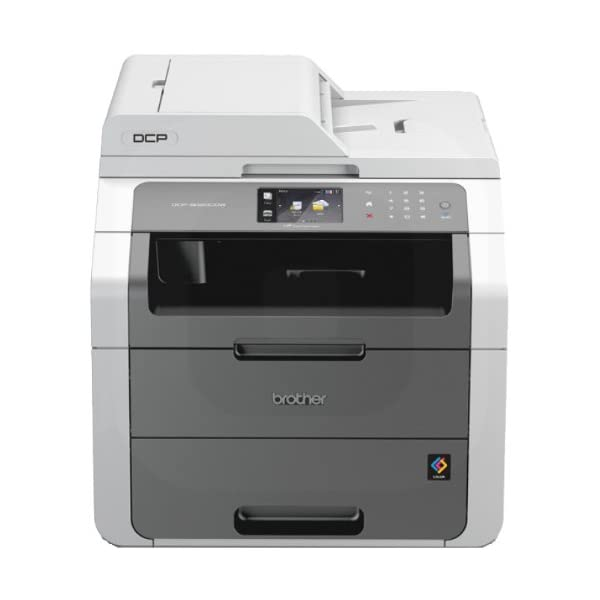 Brother Colour Laser Printer | Wireless & PC Connected | Print, Copy, Scan & 2 Sided Printing | A4 41iUzSlbQ L