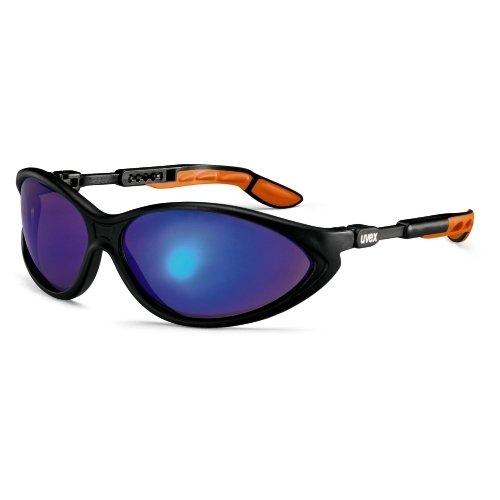 Blue Mirror Schutzbrille (Uvex 9188881Sicherheit Gläser, CYBRIC (5Stück))