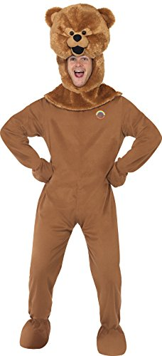 Men' Bungle Costume Rainbow Includes Bodysuit Gloves and Head.