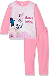 Disney Baby Girls' Minnie Mouse Sweet Pyjama Set, Pink, 2-3 Years (Manufacturer Size: 36 Months)