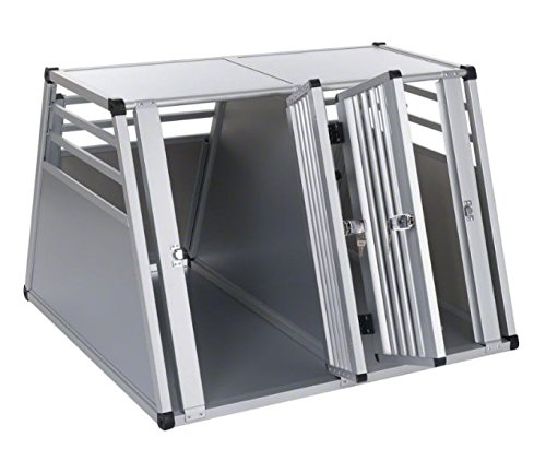 Aluline Robust and Lightweight Double Dog Crate - Safe and Comfortable Way to Transport Larger Dogs when Travelling by… 3
