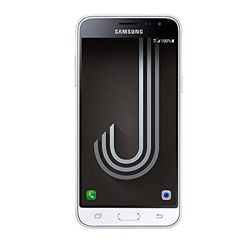 Samsung J320 Galaxy J3 (6) Smartphone da 8 GB, Mono Sim, Bianco [Versione Italiana]
