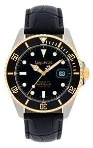 Gigandet G2-018 - Reloj para hombres, correa de cuero color negro de Gigandet