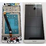 Prezzo Schermo Display LCD Vetro Touch Screen con Frame Huawei Honor 7X Bianco White BND-L21 BOMAItalia