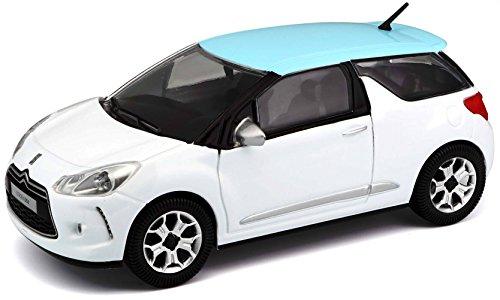 Bburago Maisto France - 22122 - Véhicule miniature - Citroën DS3 - Échelle 1/24 - Couleur aléatoire
