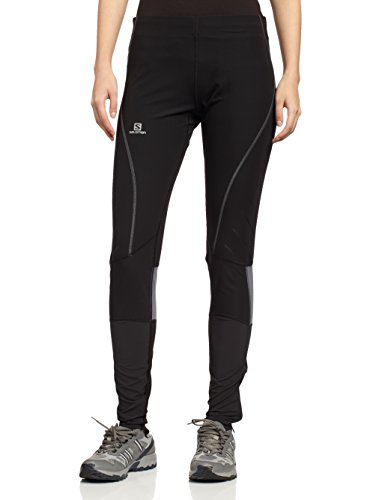 Salomon Endurance Tight W Black Dark Cloud M