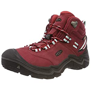 41iV1SpoV%2BL. SS300  - KEEN Women's Wanderer Waterproof Mid High Rise Hiking Shoes