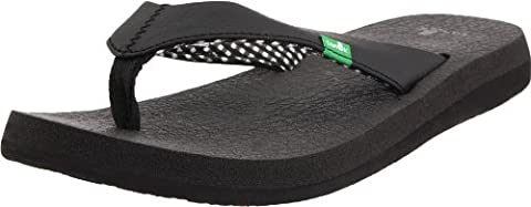 Sanük Yoga Mat Sandals black Size 38 2017