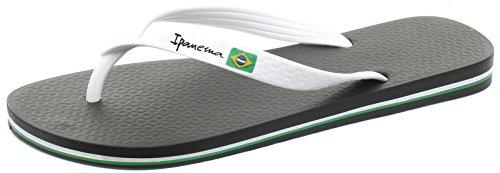 Ipanema Flag, Herren Zehentrenner Sandalen Black/White