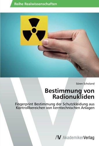 Bestimmung von Radionukliden: Fingerprint Bestimmung der Schutzkleidung aus Kontrollbereichen von kerntechnischen Anlagen (Strahlung Schutzkleidung)