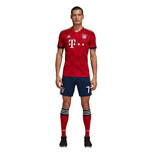 adidas FCB FC Bayern München Hose Home Heimshorts 2018 2019 Herren Ribéry 7 Gr XL