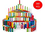 Blossom Pack of 3 (120 Pcs Each Pack) Colorful Wooden Domino Set