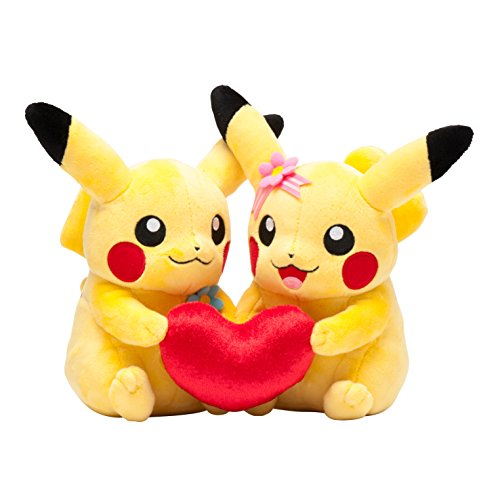 Pokemon-Center-Pair-Plush-Doll-My-Dearest-Pikachu