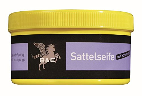 B & E Sattelseife mit Schwamm - 250 ml Test